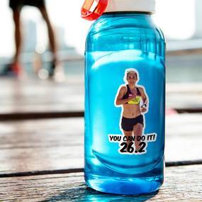 Water Bottle Photo Sticker