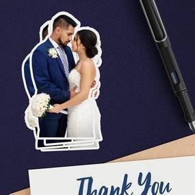 Wedding Photo Sticker