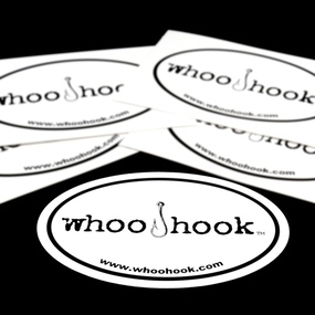 WhooHook Custom Oval Stickers