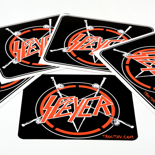 TroutNV Custom Rectangle Stickers