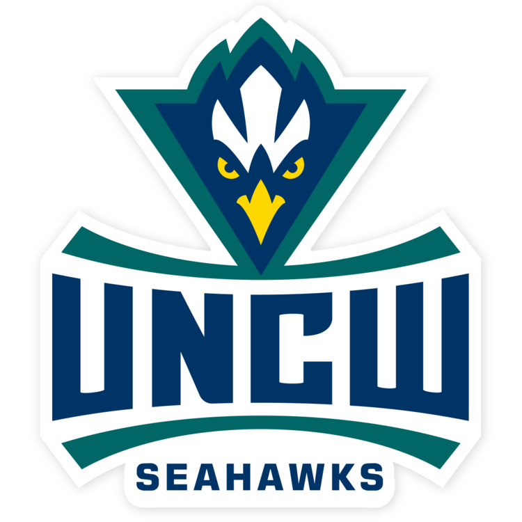 UNC Wilmington Seahawks NCAA Logo Sticker