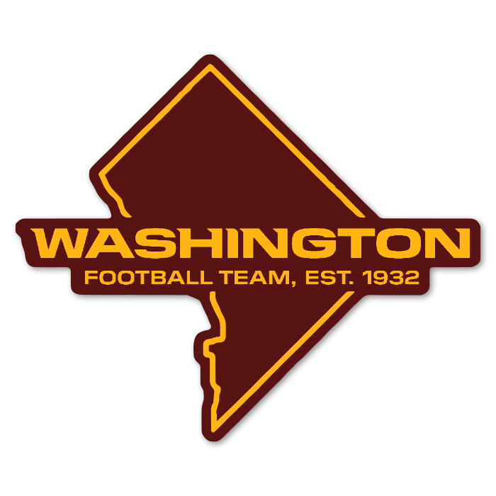 Washington Football Team NFL Logo Sticker