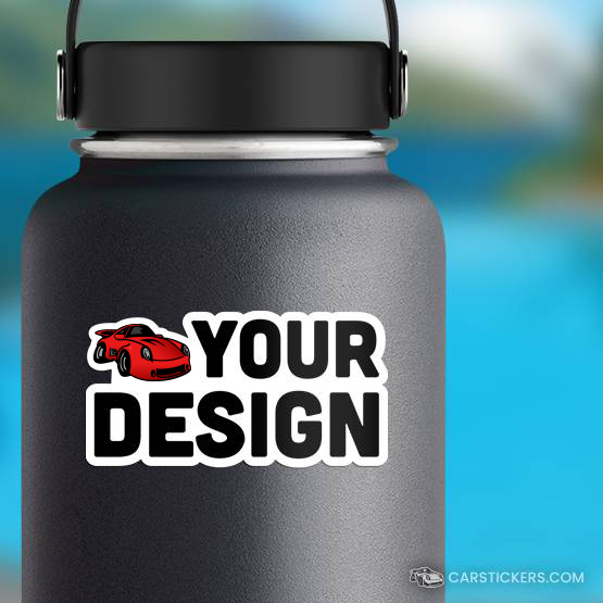 Die Cut Water Bottle