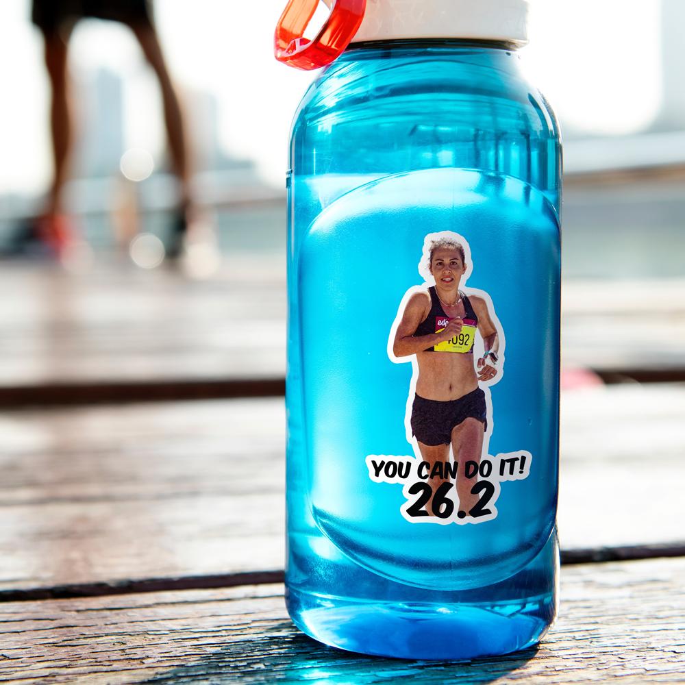 Water Bottle Photo Sticker