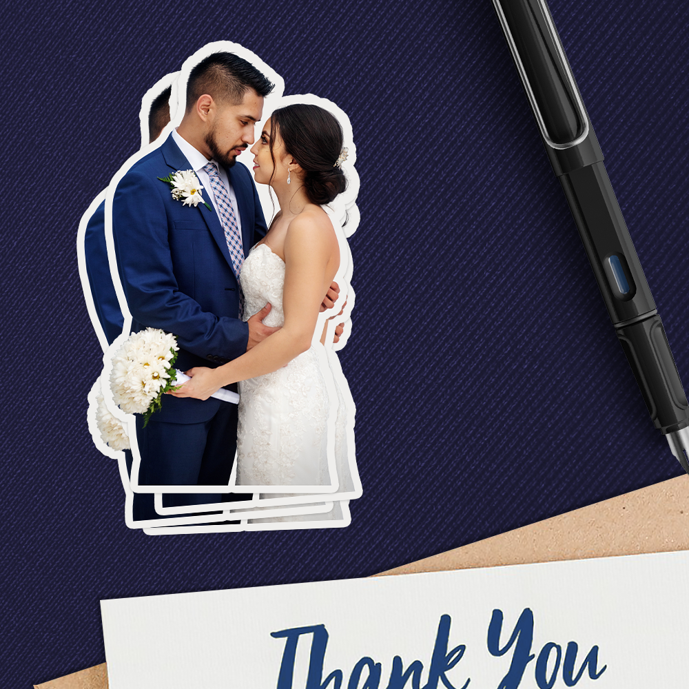 Wedding Photo Sticker