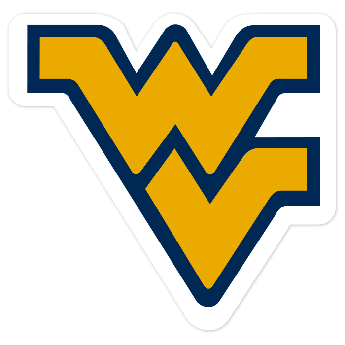 West Virginia Mountaineers NCAA Logo Sticker