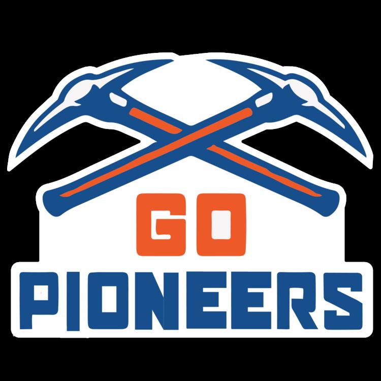 Wisconsin-Platteville Pioneers NCAA Logo Sticker