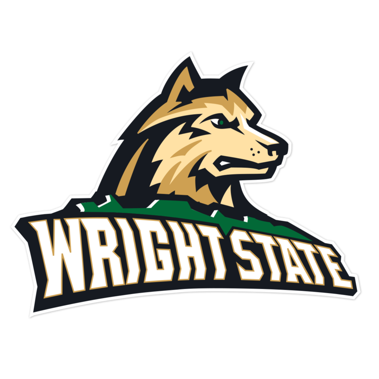 Wright State Raiders NCAA Logo Sticker