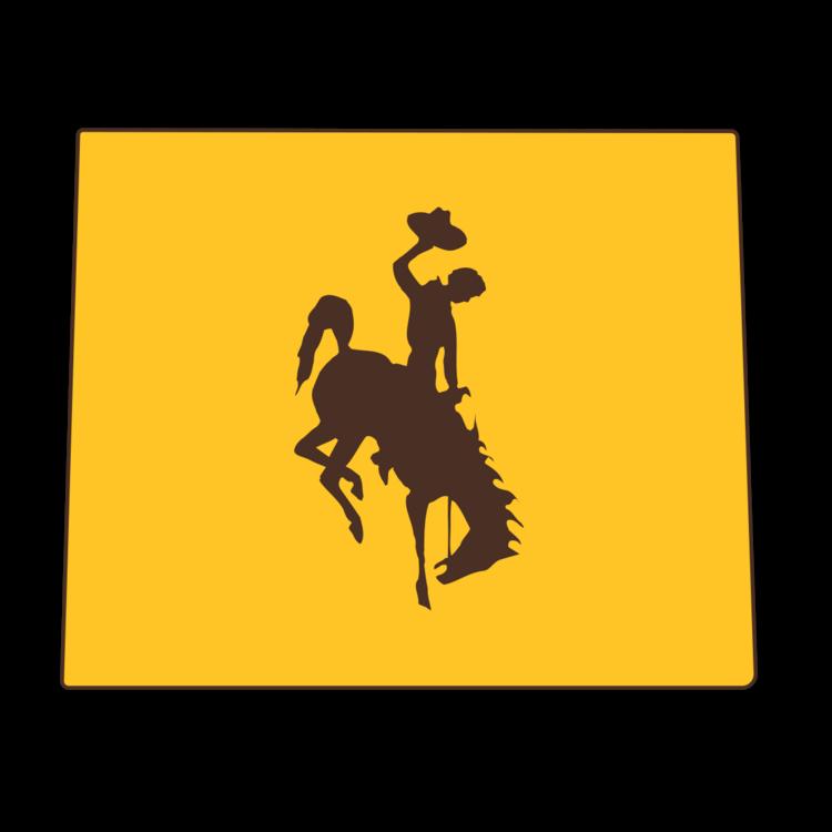 Wyoming Cowboys NCAA Logo Sticker