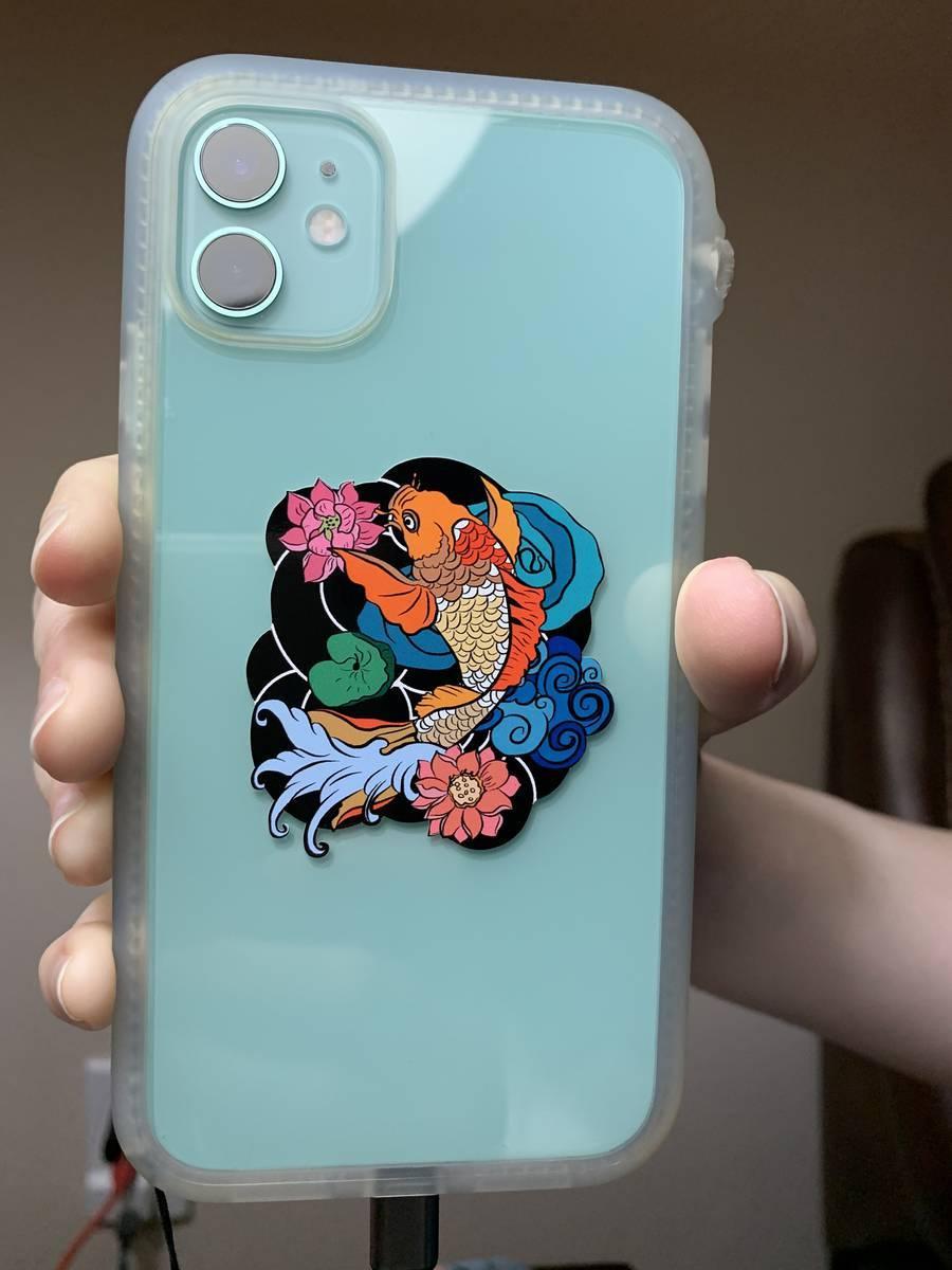 JENNA's photograph of their Custom Multi-Color Transfer Sticker Template