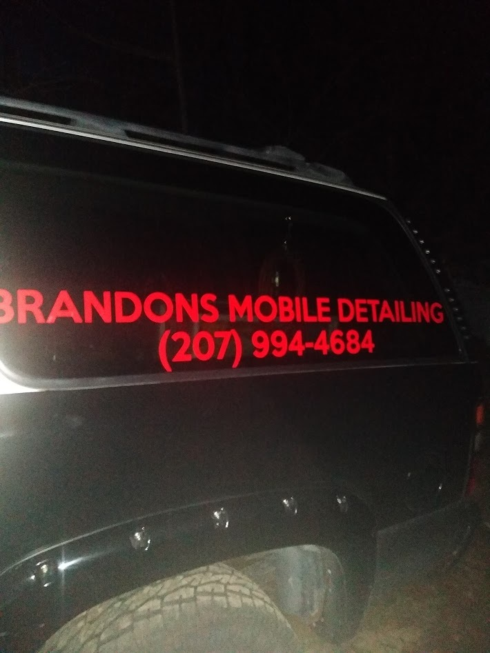 Brandon's photograph of their Windshield Stickers