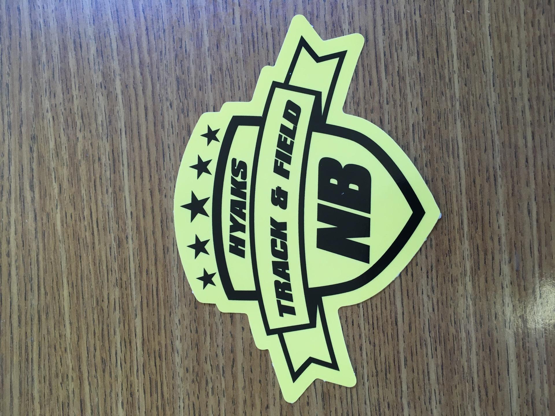 Peter's photograph of their Custom Women's Track Sprinter Sticker