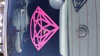 heather's photograph of their Diamond Gem Sticker