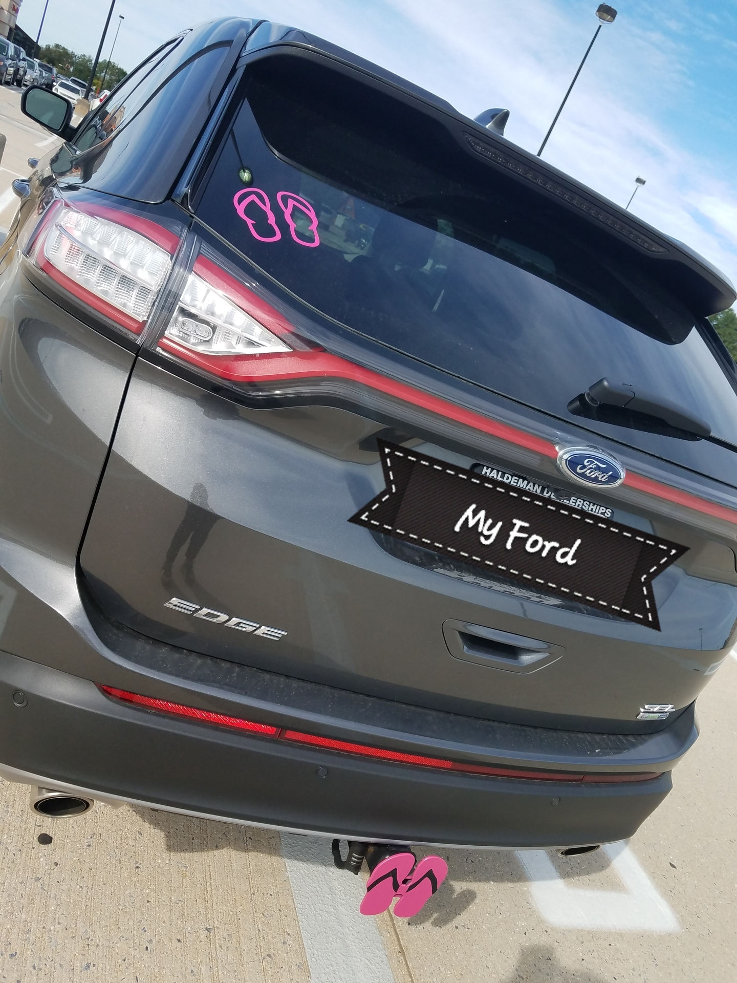TracyAnn's photograph of their Flip Flops Sticker