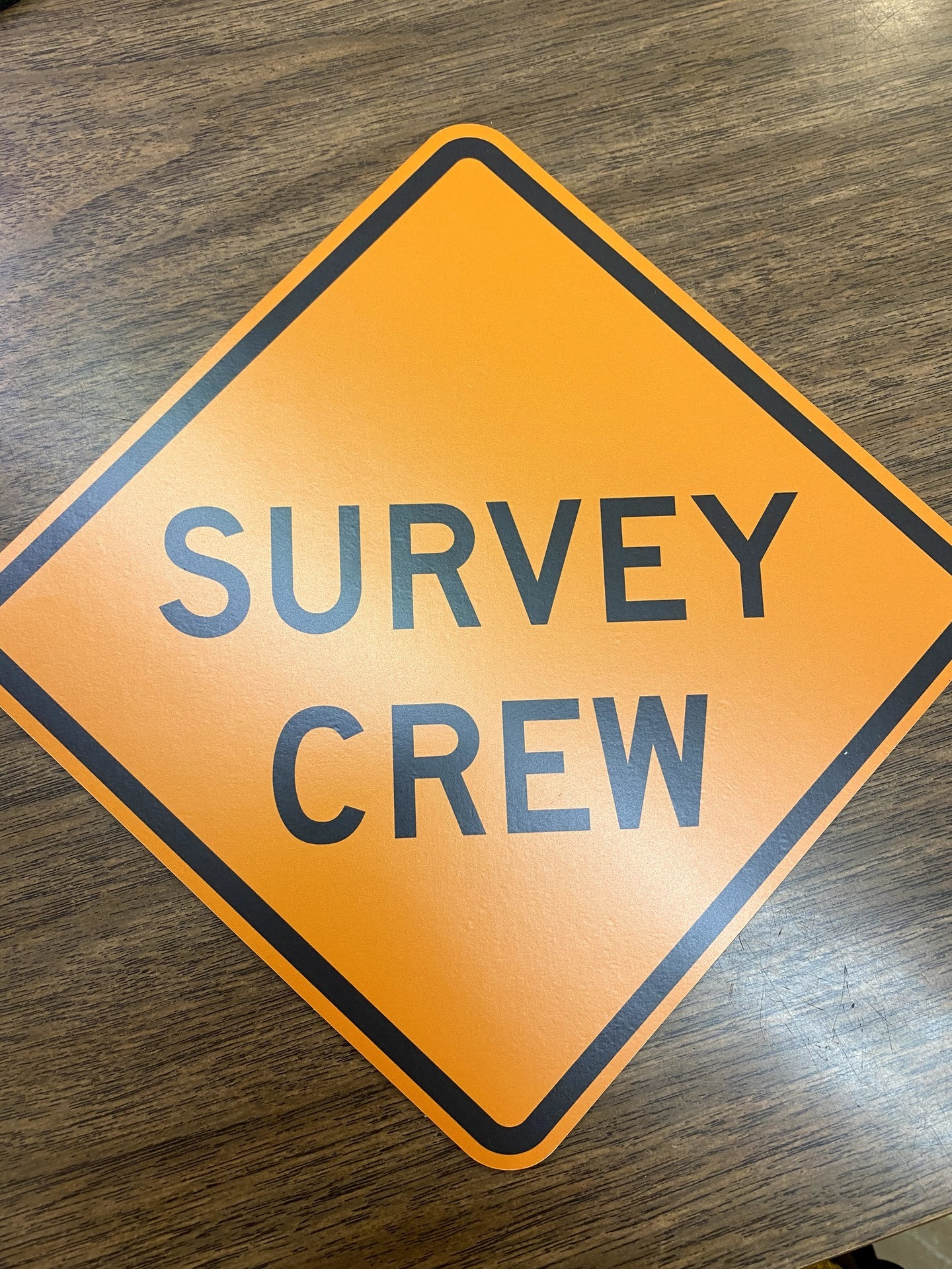 Alysson's photograph of their Survey Crew Magnet