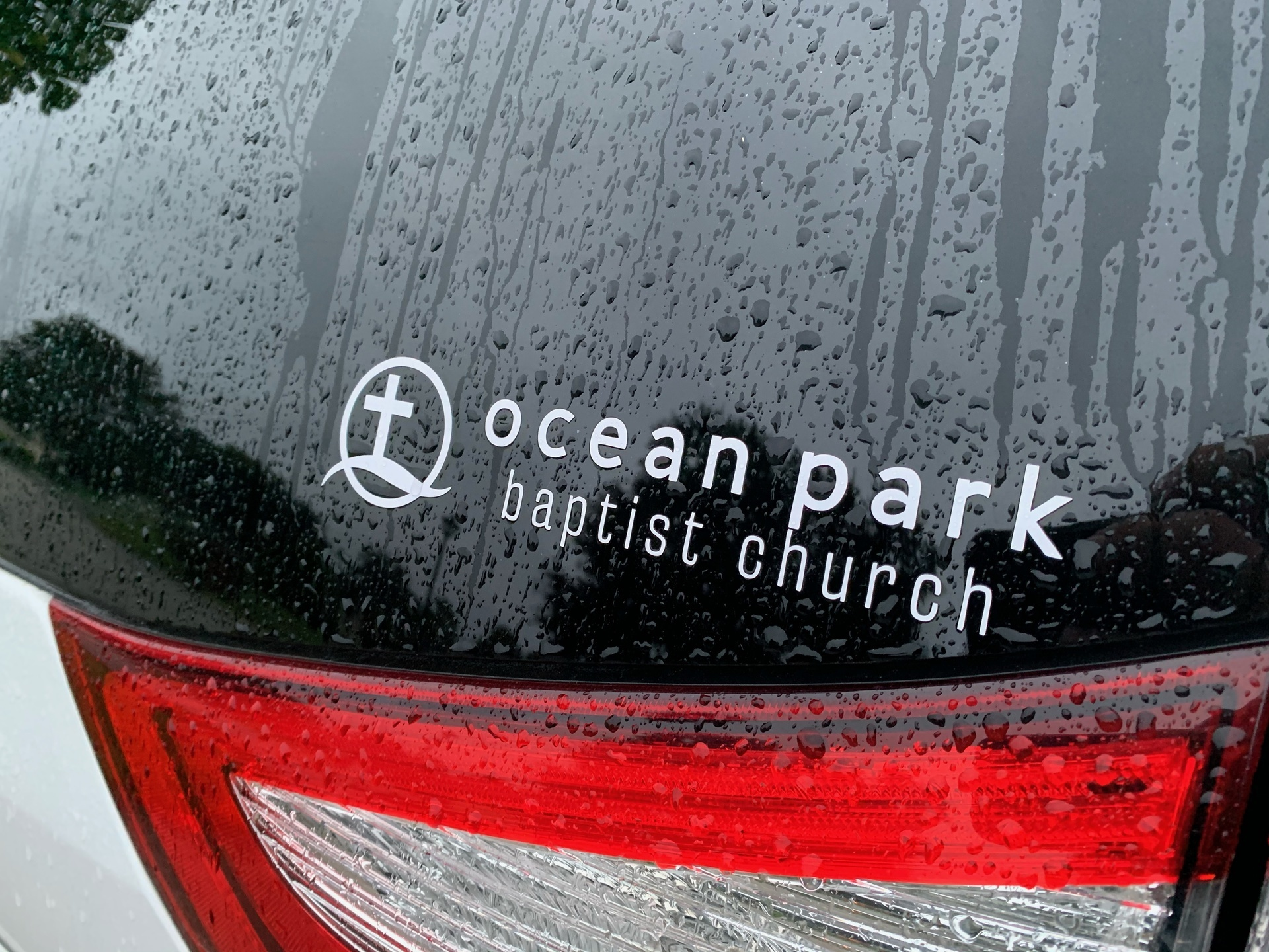 Christian's photograph of their Customizable One-Color Transfer Sticker