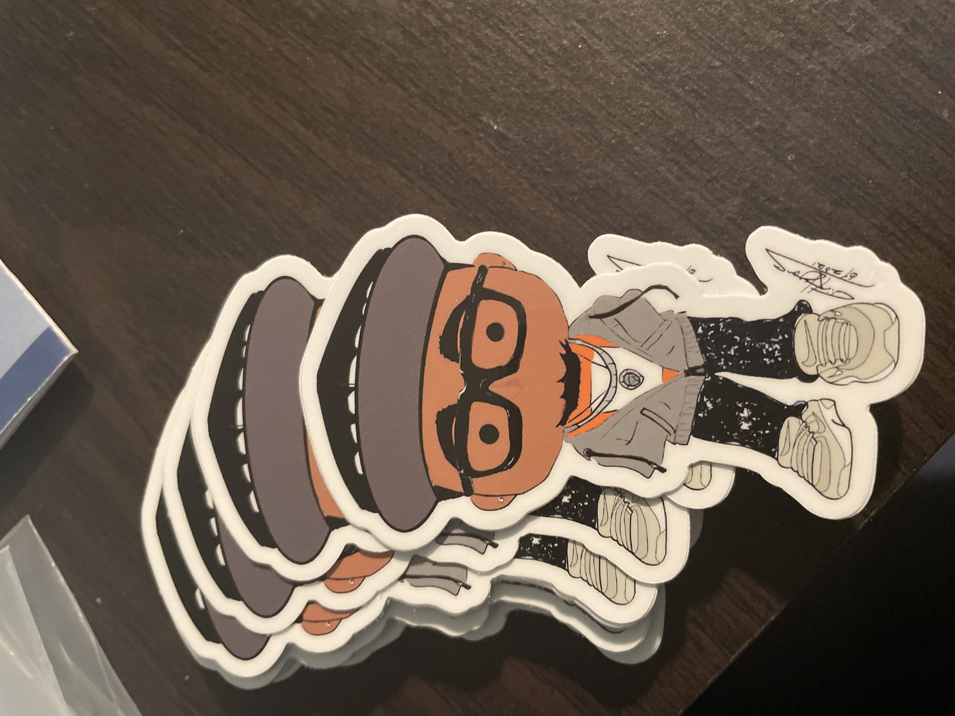 timothy's photograph of their 27 Die Cut Stickers for $9.99!