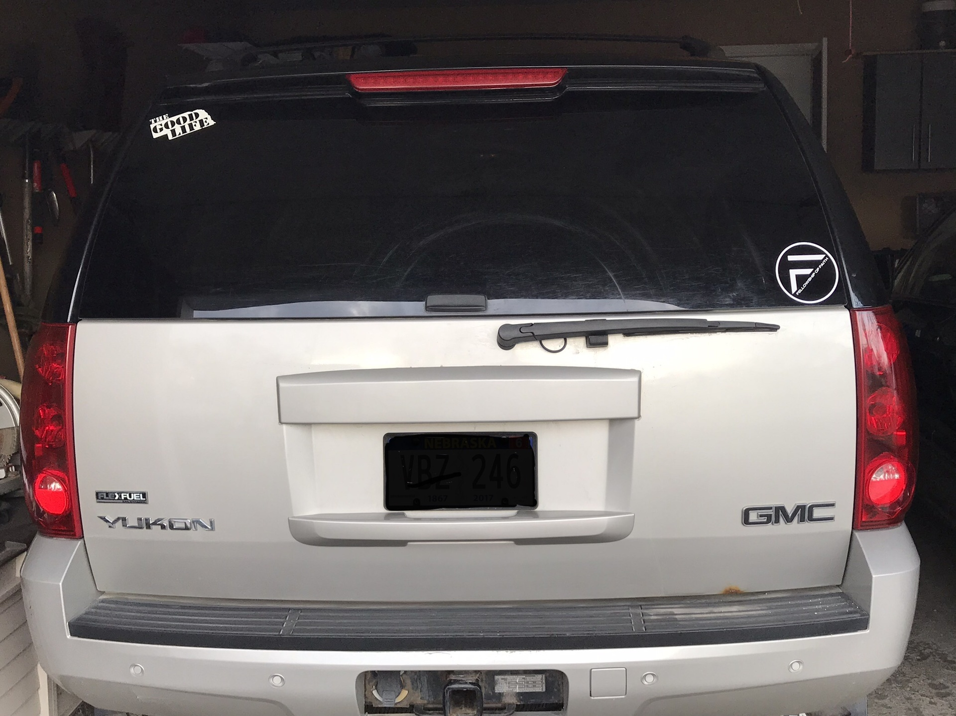 Steve's photograph of their Transfer Stickers