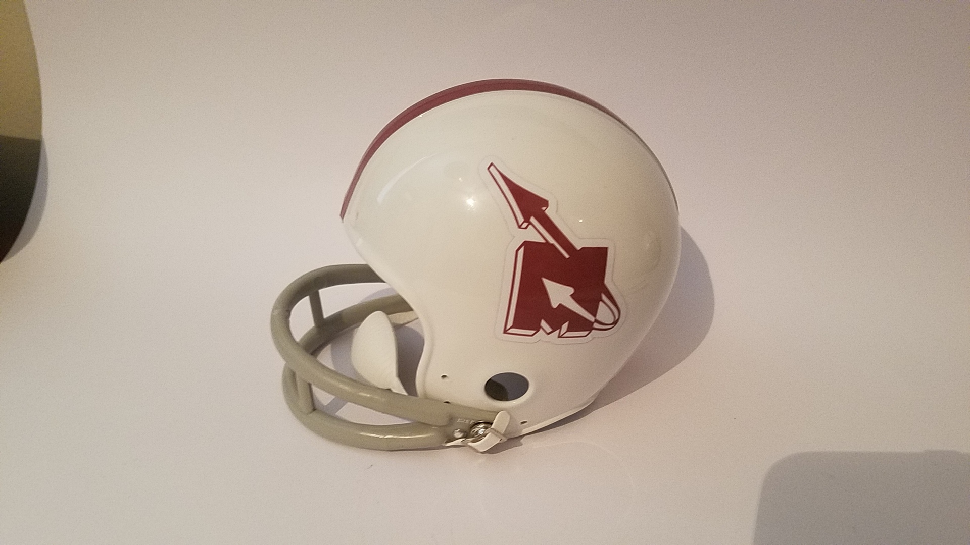 Wade's photograph of their Helmet Stickers