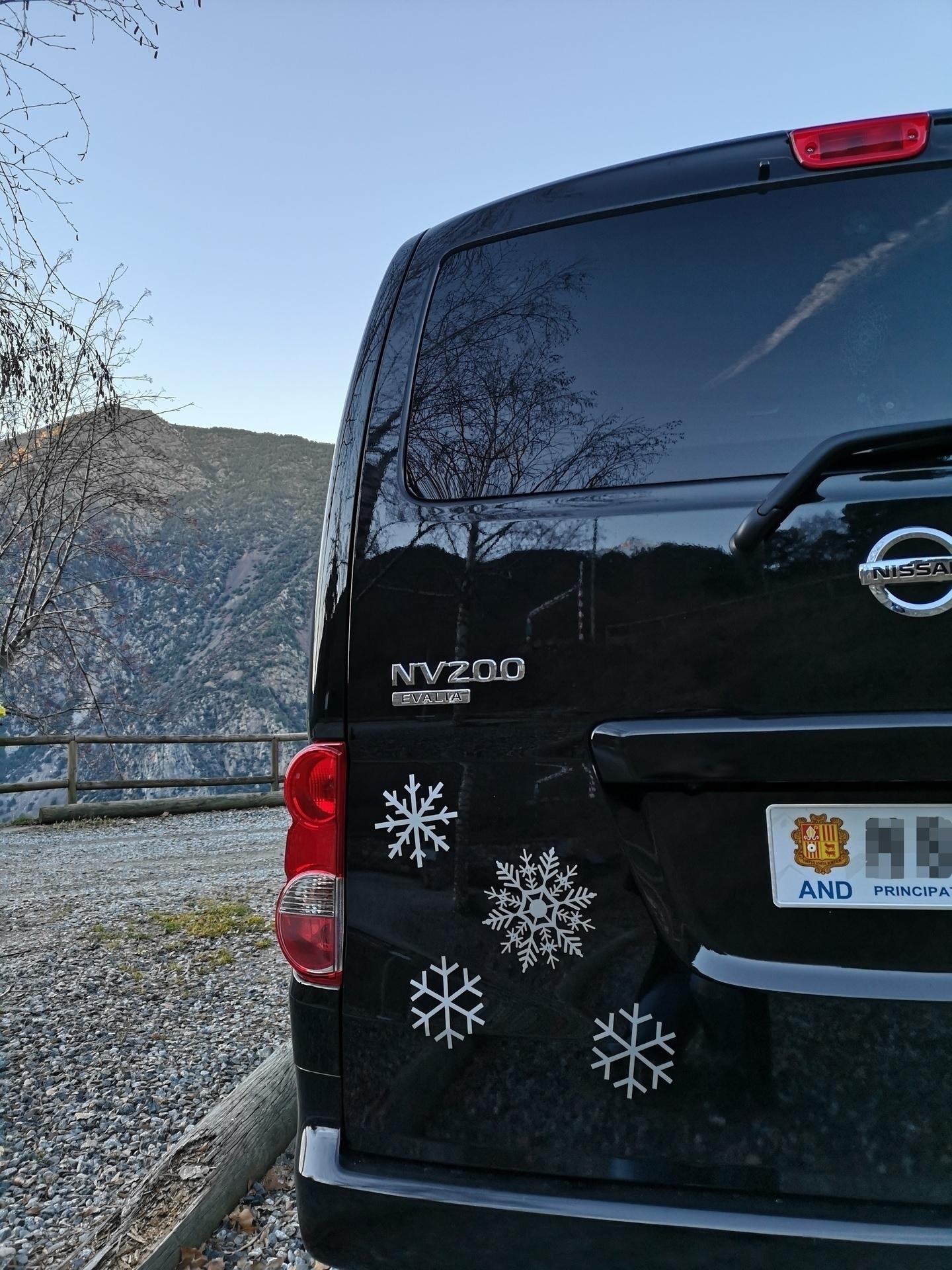 Silvia's photograph of their Festive Snowflake Sticker