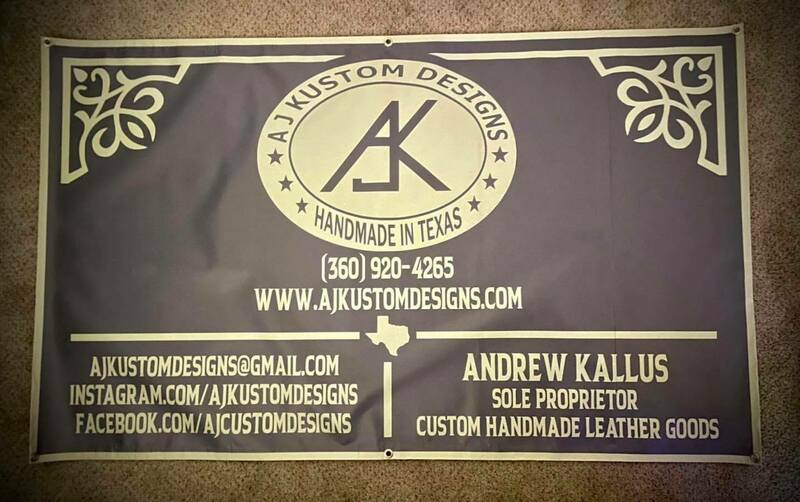 Allen's photograph of their Custom Horizontal Banner