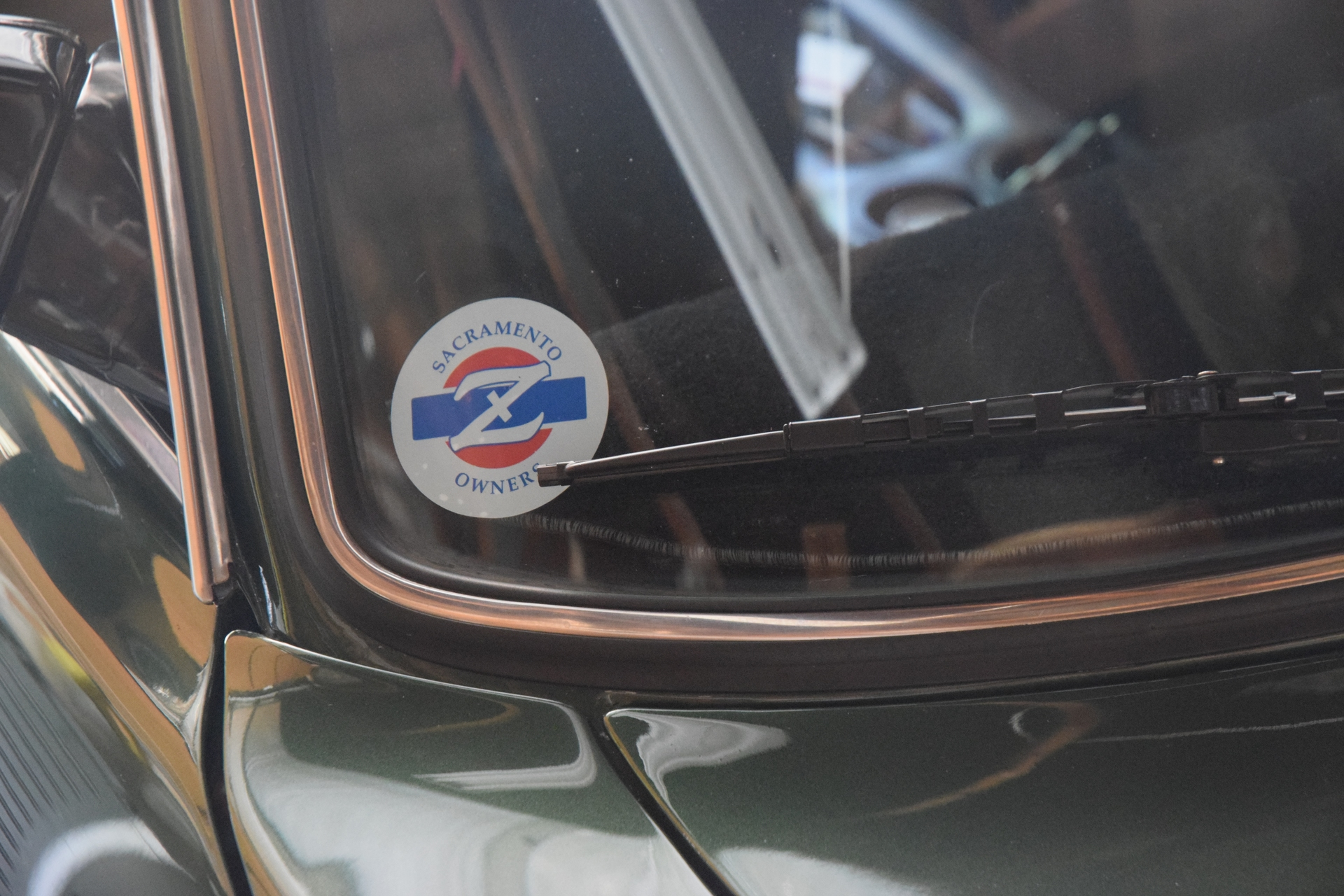 Nick's photograph of their Front Adhesive Stickers