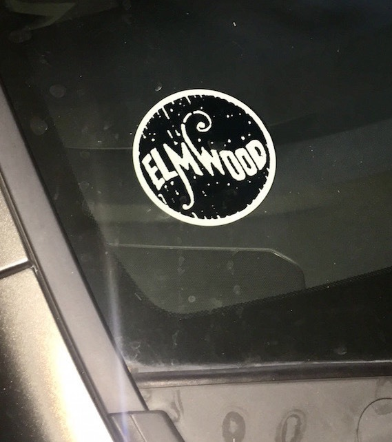 Jorge's photograph of their Front Adhesive Stickers
