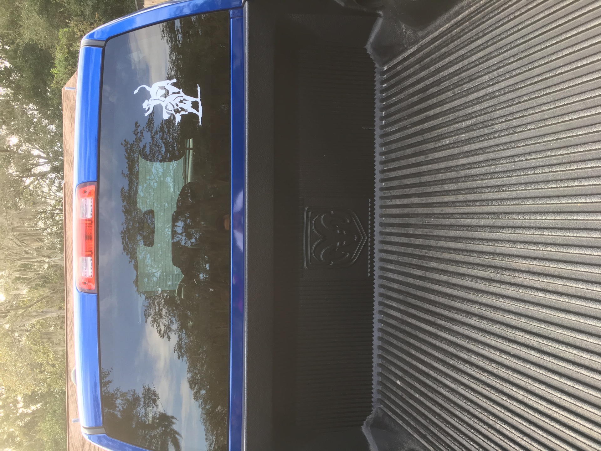 Windell mejia's photograph of their Rodeo Cowboy Riding Bull Sticker