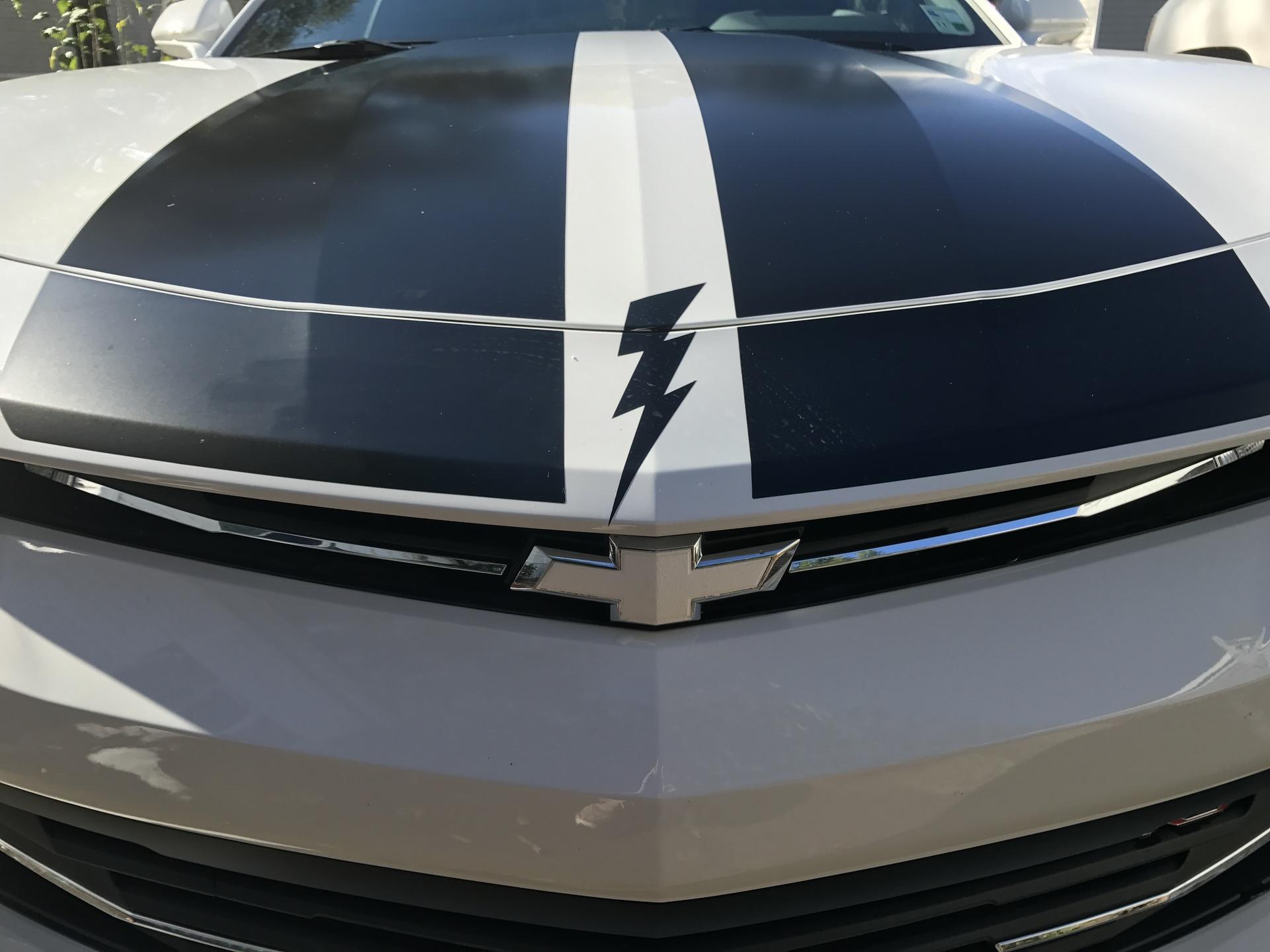 Randy's photograph of their Classic Lightning Bolt Sticker