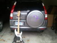 Tom's photograph of their Bass Clef Music Sticker