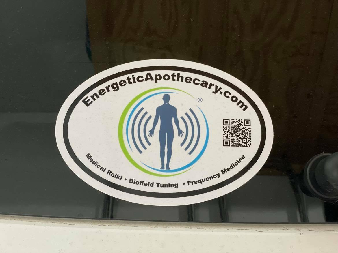 Tamara's photograph of their Oval Sticker With Your Logo