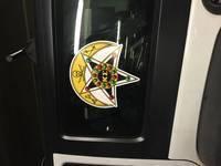 Alex's review of Kappa Sigma Badge Printed Sticker