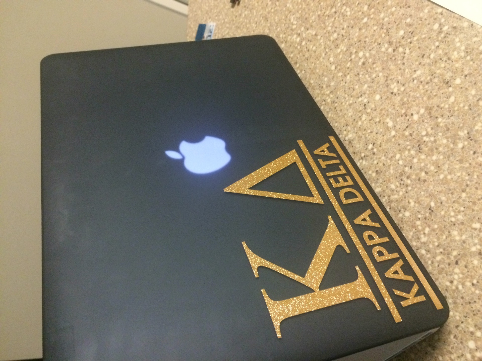 Tiffany's photograph of their Kappa Delta Logo One-Color Cut-Out  Sticker