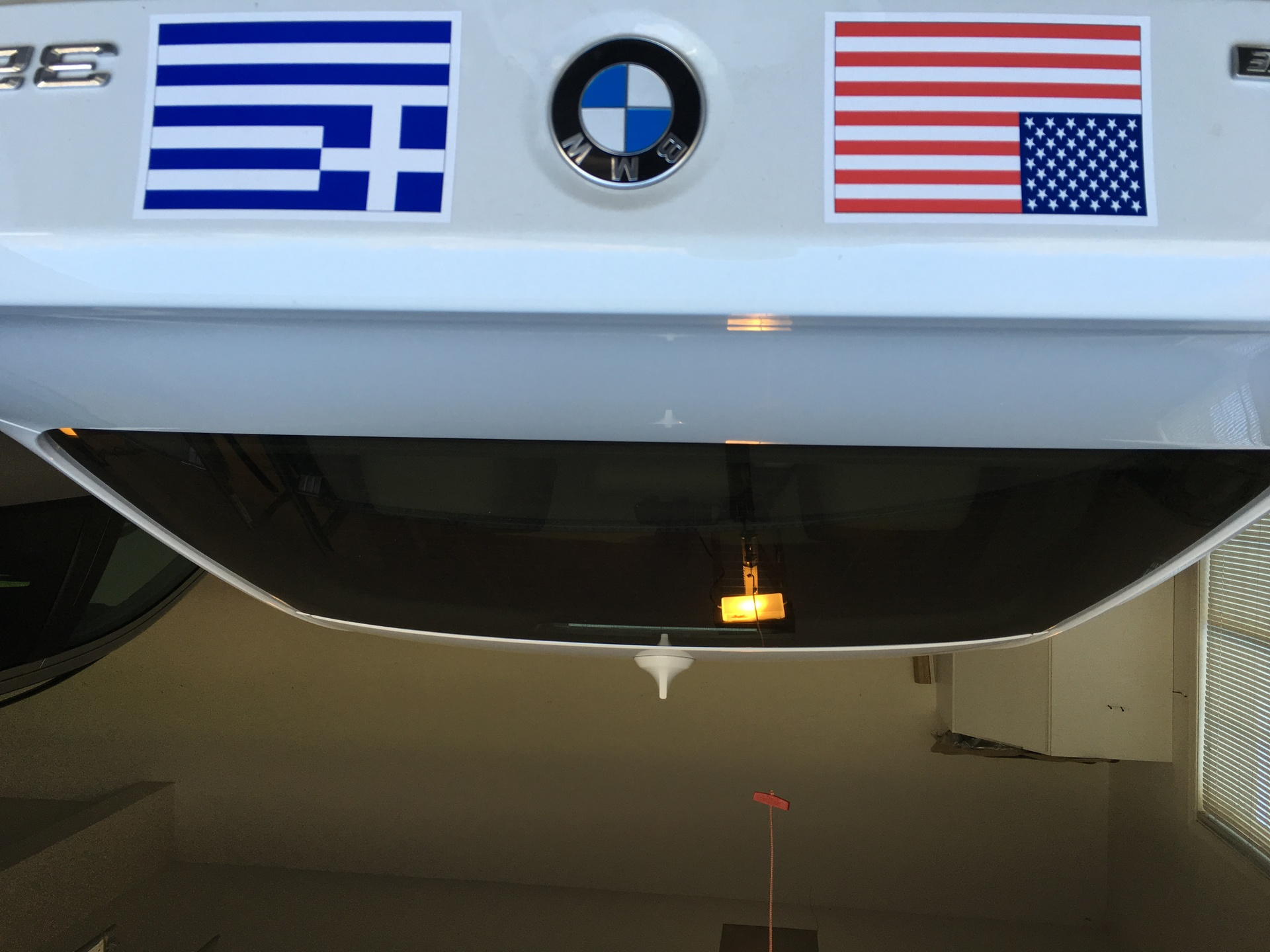Stefanos's photograph of their Greece Flag Sticker