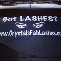 Crystal's photograph of their Woman's Eyes Sticker