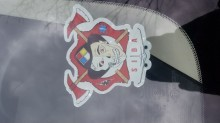Vincent's photograph of their Front Adhesive Stickers