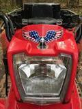 Doug's review of Soaring American Eagle With USA Flag Wings Sticker