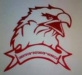 Alberta's review of Eagle Bird Sticker With Custom Wording