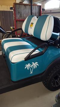 Linda's review of Palm Tree Beach Scene Sticker