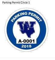 Roy's review of Circle Parking Permit with Your Logo