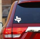 Mallory's review of Texas Tx State Flag Oval Sticker