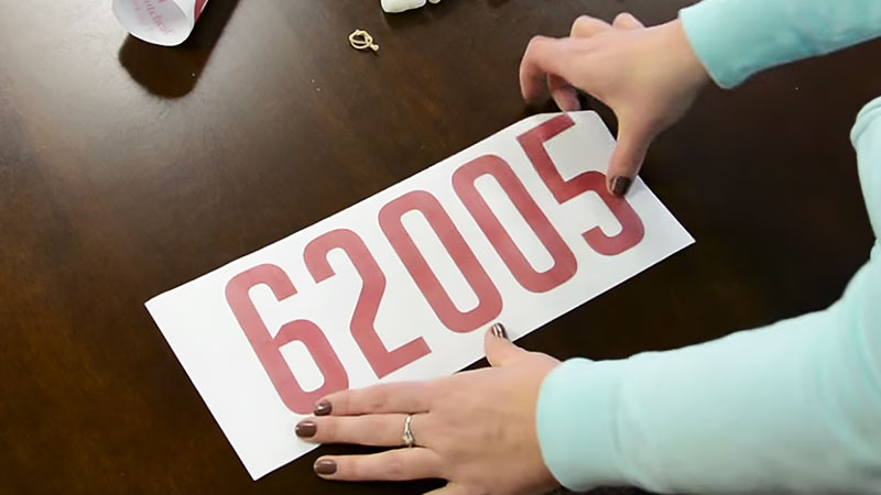 Transfer Sticker Preparation
