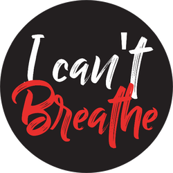 I Can't Breathe, Black Lives Matter Sticker