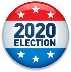 2020 United States Of America Presidential Election Sticker