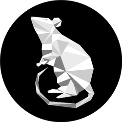 2020 Year Of The White Rat On The Chinese Calendar Sticker