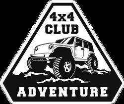 4x4 Club Adventure Sticker