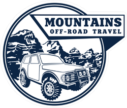 4x4 Off Road Emblem Sticker