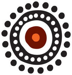 Aboriginal Indigenous Art Logo Sticker
