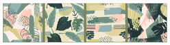 Abstract Creative Patterns With Tropical Plants Sticker