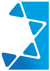Abstract Star Of David Sticker